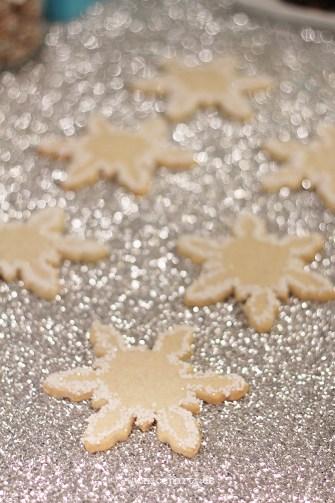 Fiesta frozen. Mesa de dulces, galletas decoradas