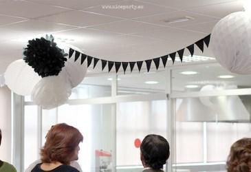 Nice Party: Fiesta de despedida en blanco y negro