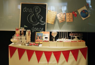 Nice Party: Una boda «Back to school»