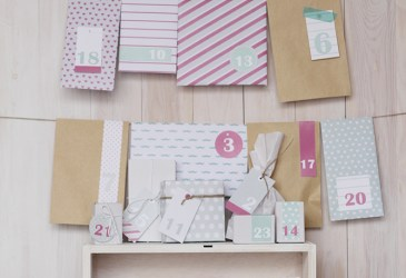 Pack calendario de adviento: 24 DIY para descargar