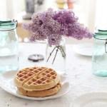 Inspiración: Un desayuno con gofres