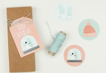 Novedad: Etiquetas para decorar paquetes