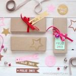 Nice Party: Cajitas de galletas por navidad