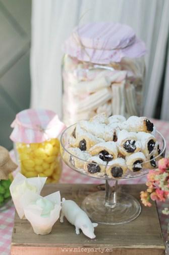Nice Party Comunión bosque Mesa de dulces y decoración (1)