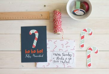 Freebie: Tarjetas imprimibles de Navidad