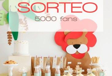 Sorteo 5000 fans en Instagram
