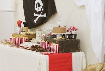 Nice Party: Una mesa dulce de piratas