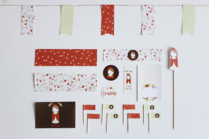 Nice Party kit de fiesta para imprimir (1)