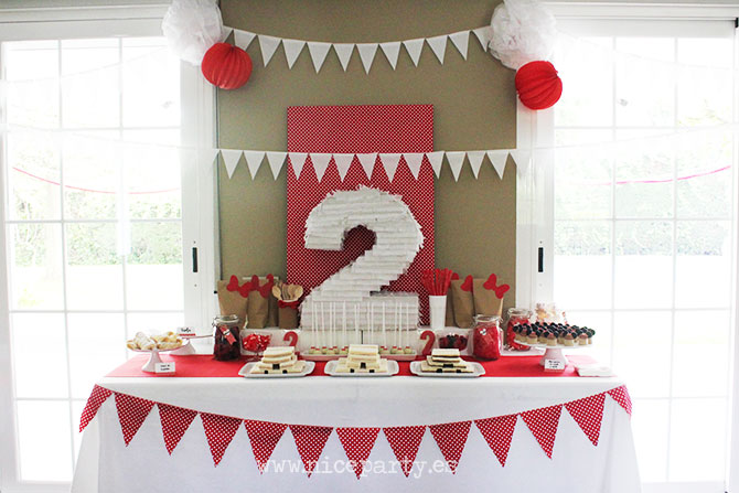 Nice Party mesa de dulces Minnie Mouse (1)