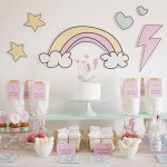 Nuevo kit de fiesta Baby Unicorn