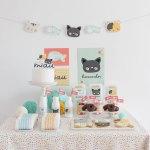Sara y su fiesta de gatitos