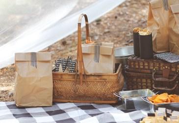 Nice Party: Un picnic en blanco y negro