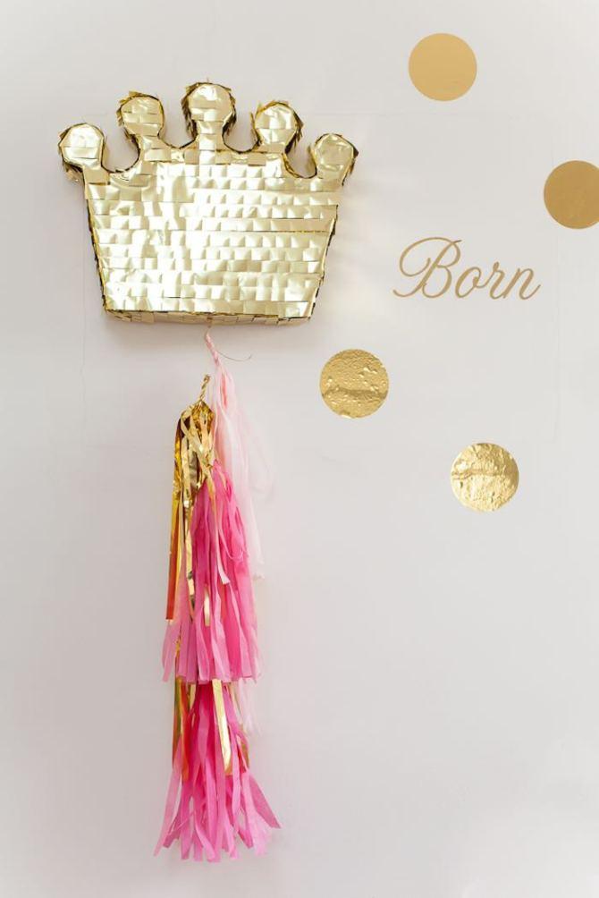 Piñata cumpleaños princesas