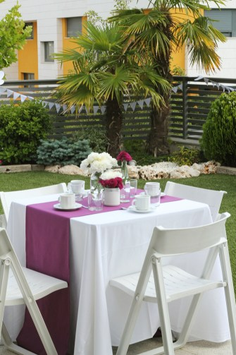 Nice Party bar mitzvah fiesta fucsia y morado