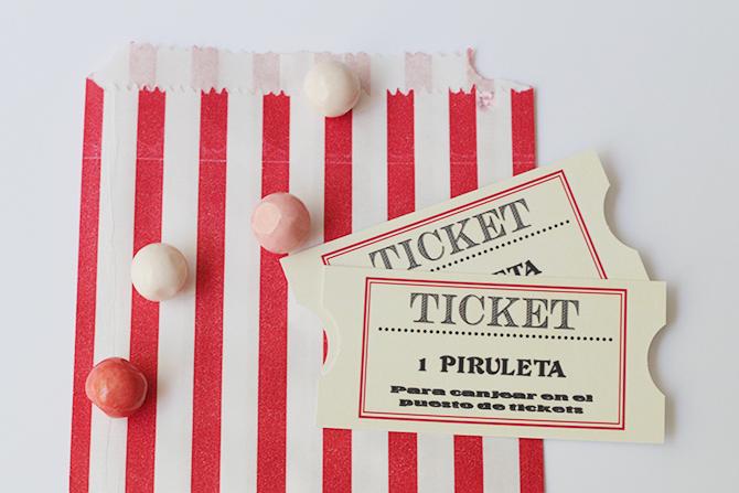 Nice Party Shop tickets feria fiesta de Mary Poppins
