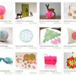Etsy treasuries: Neon Christmas