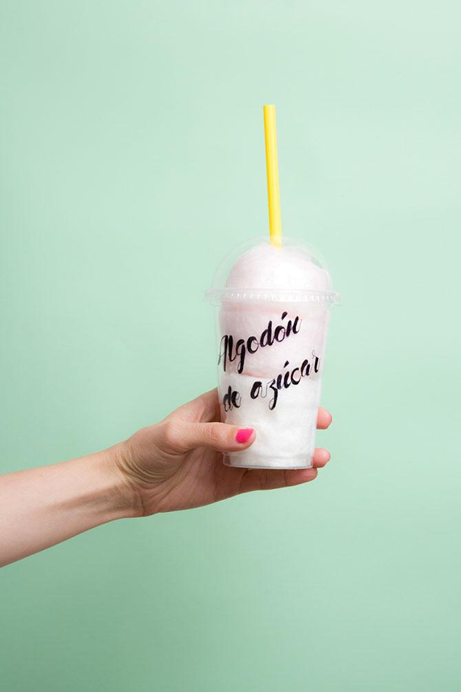 algodón de azúcar para tu mesa de dulces
