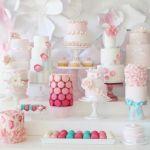 Inspiración: Un buffet de tartas decoradas