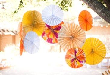 Ronda de cosas bonitas: Rosetones de papel