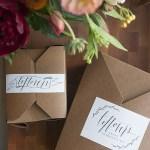 Cosas bonitas: Cajas kraft de regalo