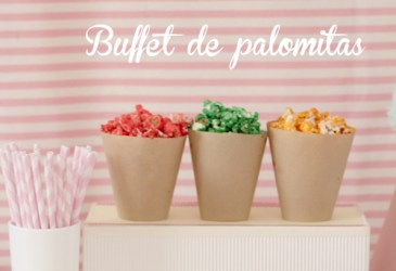 Diy: Buffet de palomitas