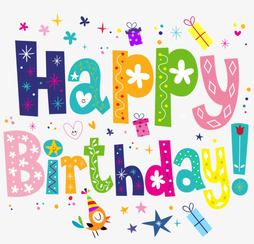 Happy Birthday Transparent Png Cute Happy Birthday Png Transparent Png 600x546 Free Download On Nicepng