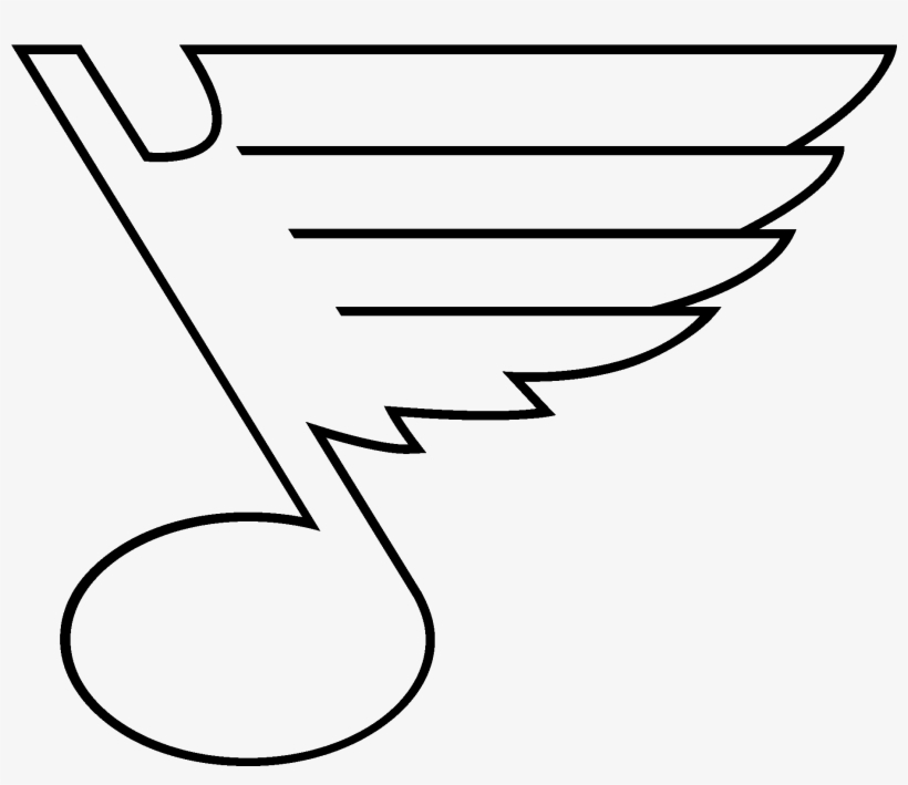 Perspective St Louis Cardinals Logo Coloring Pages St Louis Blues Logo Black And White Transparent Png 2000x1600 Free Download On Nicepng