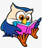 Book Lists And Resources For Children - Owl Reading A Book Transparent PNG  - 1695x1803 - Free Download on NicePNG