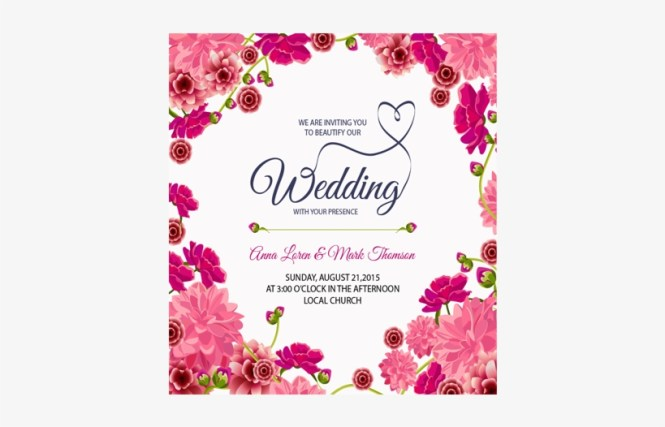 Wedding Invitations Cards Png