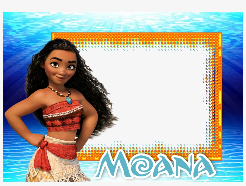moana birthday invitations template