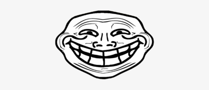 Troll Large Smile Troll Face Clipart Transparent Png 400x400