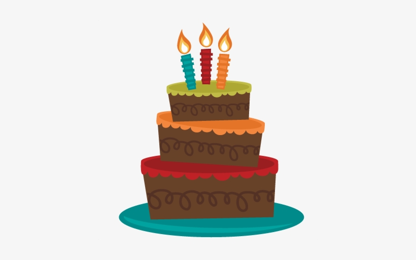 Vector Library Tiered Birthday Svg Birthday Cake Clipart No Background Transparent Png 432x432 Free Download On Nicepng