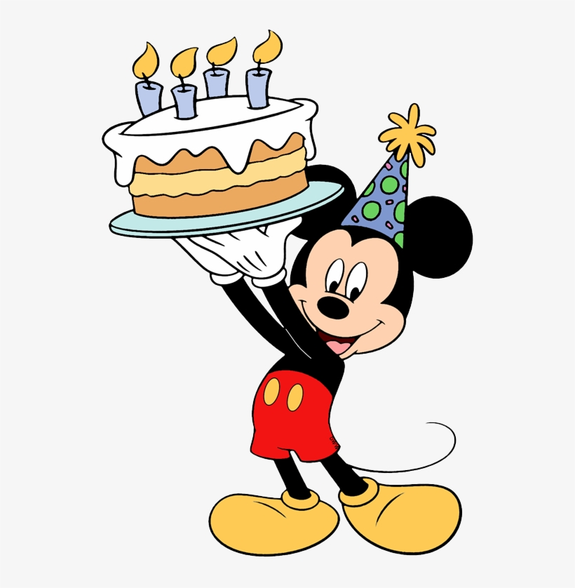 Mickey Mouse Birthday Cake Mickey Mouse Birthday Coloring Pages Transparent Png 534x758 Free Download On Nicepng