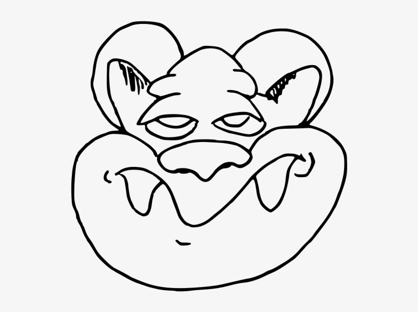 Internet Troll Trollface Line Art Black And White Troll Black