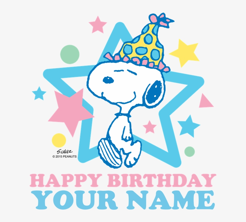 Snoopy Happy Birthday Snoopy And Woodstock Party Transparent Png 700x700 Free Download On Nicepng
