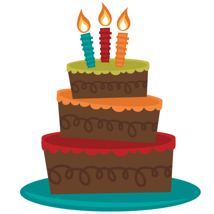Download Hd Vector Library Tiered Birthday Svg Birthday Cake Clipart No Background Transparent Png Image Nicepng Com