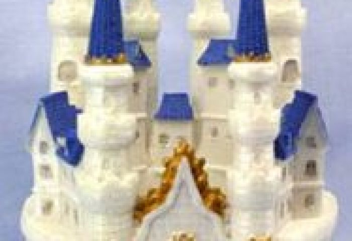 Castle Cake Topper Or Centerpiece 9 12 Tall Nice Price Favors
