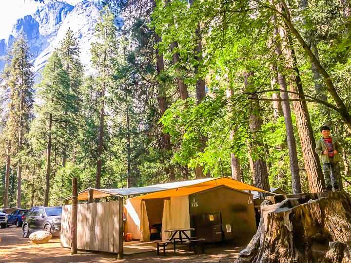 Yosemite National Park Camping
