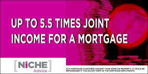 five and half times income mortgage