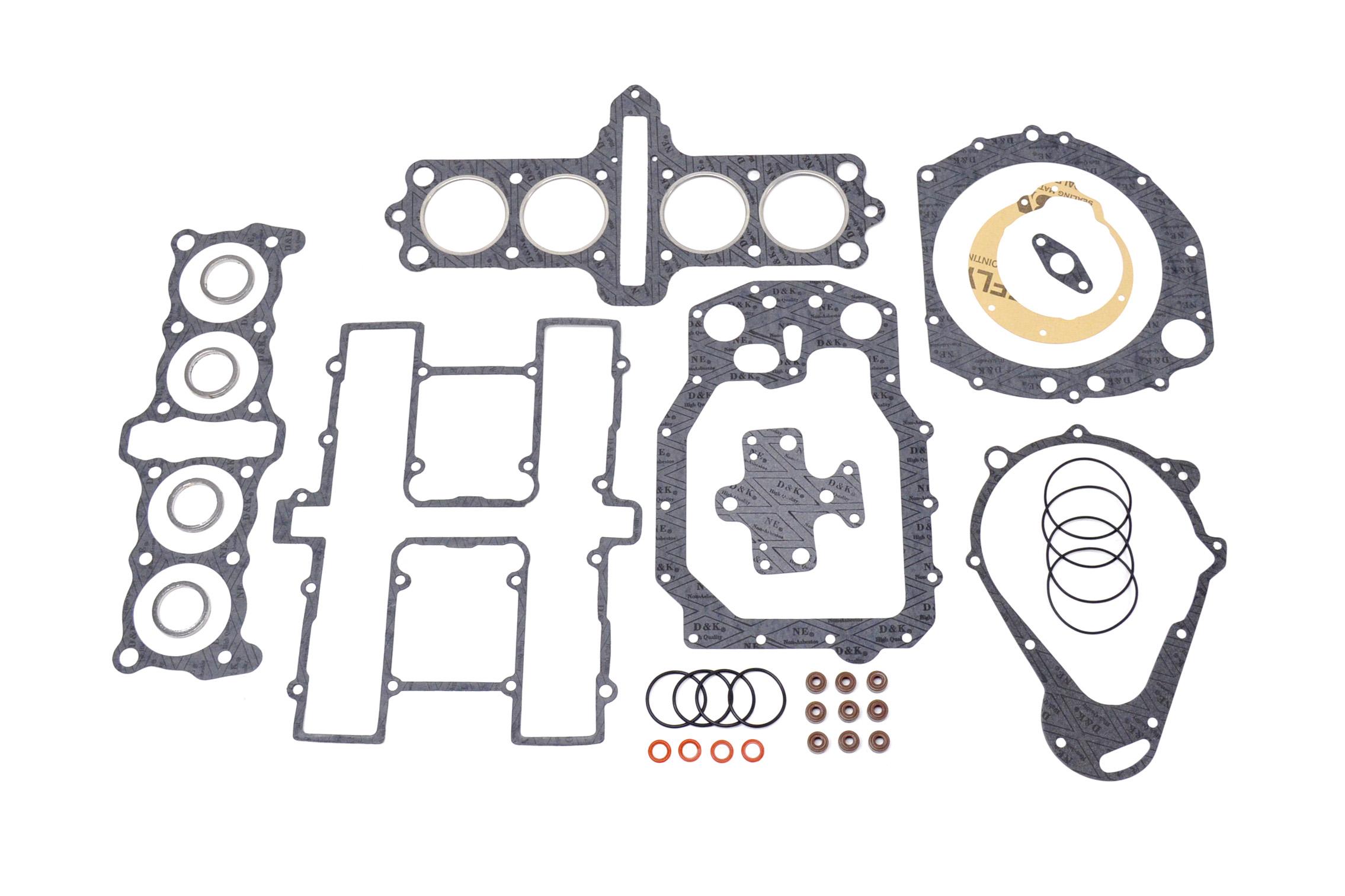 Suzuki Gs650 Top Bottom End Complete Engine Gasket Set Kit