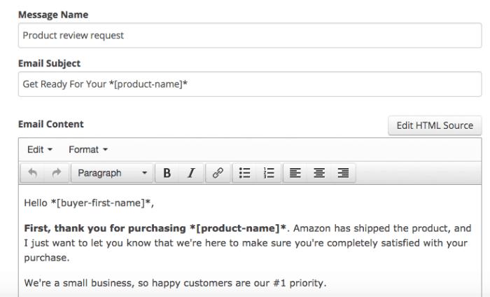 Seguito della recensione di Amazon