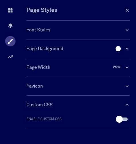 stili di pagina