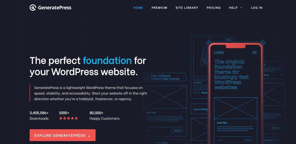 generatepress for amazon affiliates