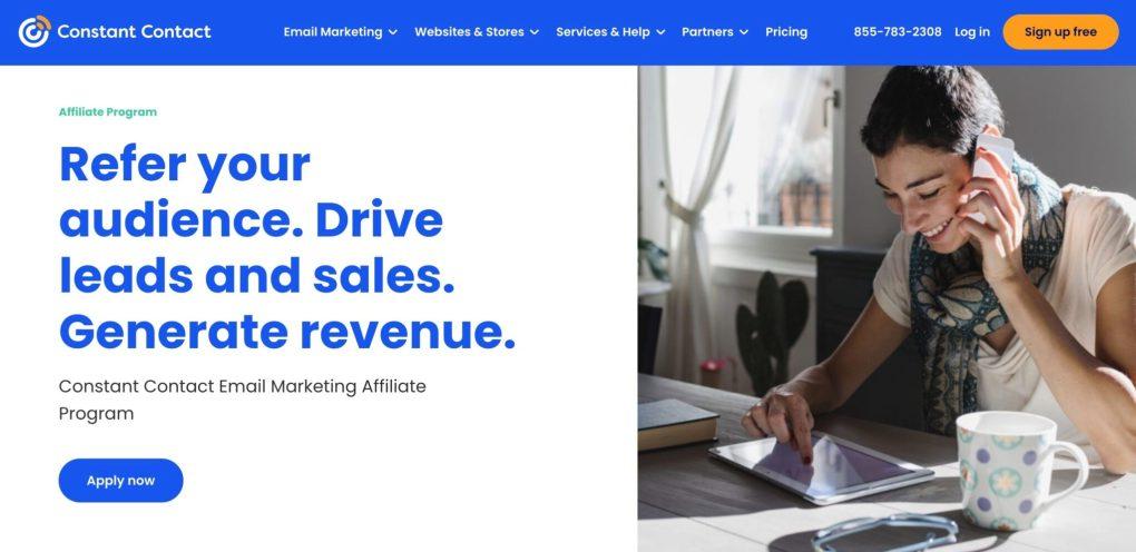 affiliate marketing through email