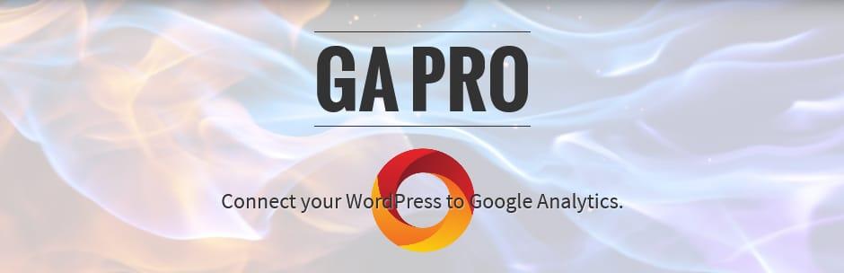 GA Google wordpress analytics