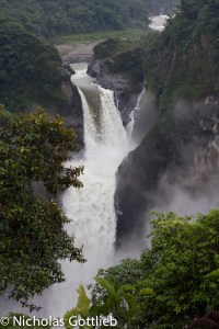 Ecuador has everything, even huge waterfalls.