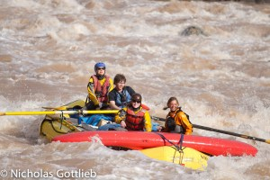 Option 2: find seven more people with no whitewater experience, call every raft outfitter and friend you know of, and try to put together an 11 day, 16 person raft trip in less than 10 days.