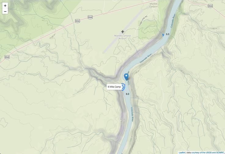 Grand Canyon Map