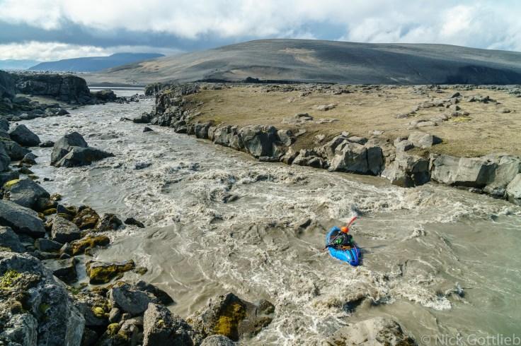 One of many enjoyable rapids.