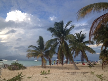 Playa Norte on Isla Mujeres